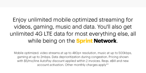 Get Unlimited 4G LTE Data