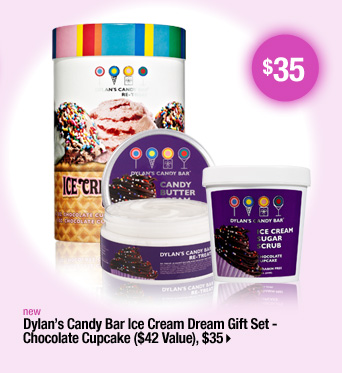 Dylan's Candy Bar Ice Cream Dream Gift Set - Chocolate Cupcake ($42 Value), $35 &gt