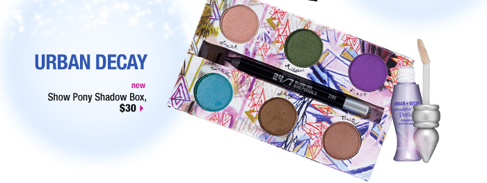 new. Urban Decay Show Pony Shadow Box, $30 &gt