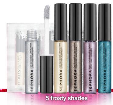 5 frosty shades