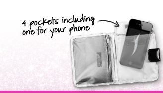 4 pockets including one for your phone