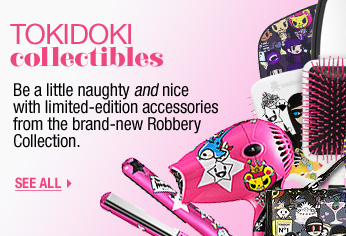 TOKIDOKI collectibles. Be a little naughty and nice with limited-edition accessories from the brand-new Robbery Collection. SEE ALL >