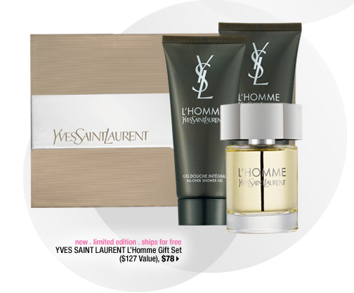 new . limited edition . ships for free. YVES SAINT LAURENT L'Homme Gift Set ($127 Value), $78