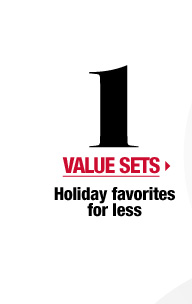 Value Sets > Holiday favorites for less