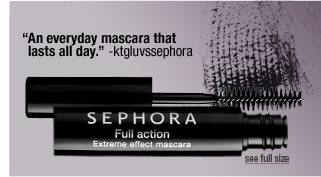 """An everyday mascara that lasts all day."" -ktgluvssephora"