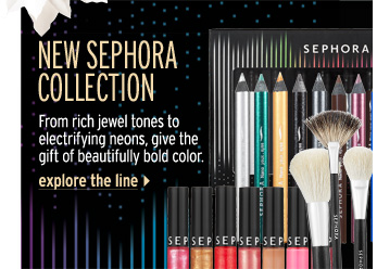 New SEPHORA COLLECTION. From rich jewel tones to electrifying neons, give the gift of beautifully bold color. Explore the line >
