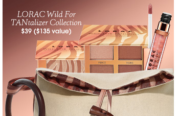 LORAC Wild For TANtalizer Collection ($135 Value), $39