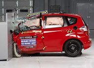 Most small cars bomb new crash test