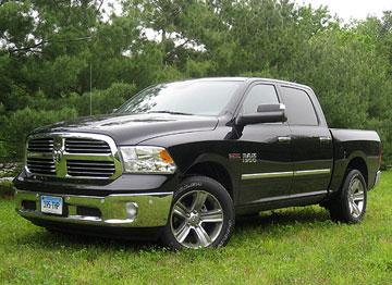 2015 Ram 1500 Diesel tops full-sized pickup ratings