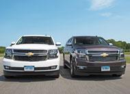 Chevrolet Suburban and Tahoe