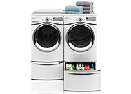 Top washer and dryer pairs