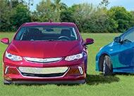 Chevrolet Volt vs. Toyota Prius