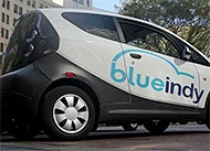 Innovative BlueIndy Car Sharing