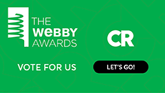 Vote Now: Help CR Win a Webby!