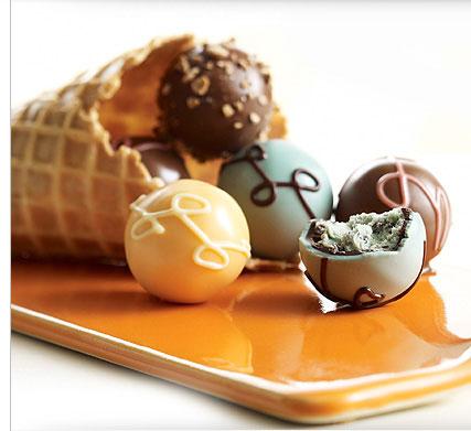 Godiva ice cream truffles review