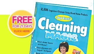 OrderJoey Green's Cleaning Magic today!