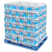 Nestle - Pure Life Purified Bottled Water, 1/2 liter (16.9 oz) - 72 Case Pallet
