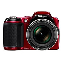 Nikon Coolpix L810 16.1MP Digital Camera with 26x Optical Zoom - Red