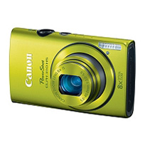 Canon ELPH 310 12.1MP Digital Camera - Green
