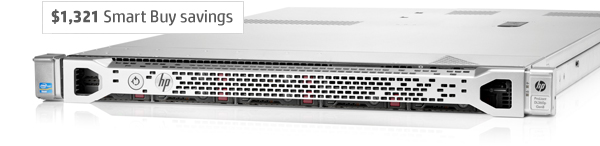 HP ProLiant DL360p Gen8 Server-$1,321 Smart Buy savings