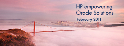 HP and Oracle partnered for your success January 2011