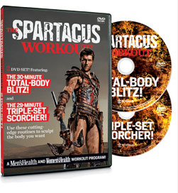 Click here to order The Spartacus Workout now!
