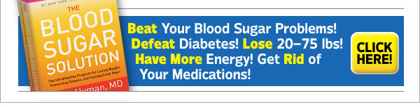 Beat Your Blood Sugar Problems! Defeat Diabetes! Lose 20-75 lbs! Have More Energy! Get Rid of Your Medications!