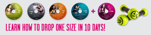 Learn how to drop one size in 10 days!