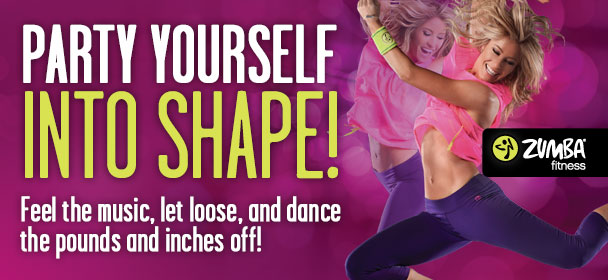 Party yourself into shape! Feel the music, let loose, and dance the pounds and inches off!
