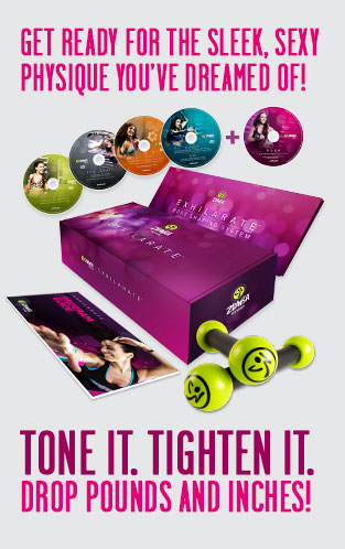 Get ready for the sleek, sexy physique you've dreamed of! Tone it. Tighten it. Drop pounds and inches!