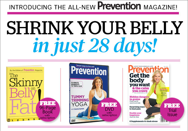 SHRINK YOUR BELLY in just 28 days!