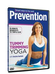 Tummy-Trimming Yoga DVD