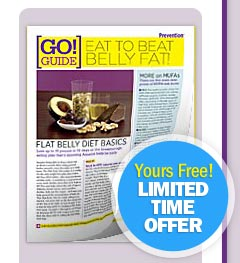 Eat to Beat Belly Fat Go Guide...Yours FREE! LIMITED TIME OFFER