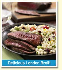 Delicious London Broil!