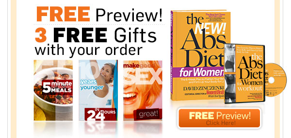 FREE PREVIEW! THREE FREE GIFTS with your order!