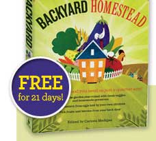 Order The Backyard Homestead today!