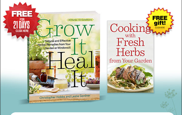 Click Here to try Grow It, Heal It FREE for 21 days. plus get a FREE gift!