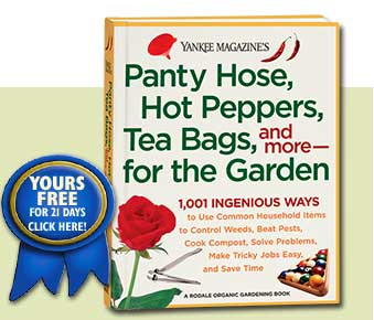 Order Panty Hose, Hot Peppers, Tea Bags, and more for the Garden today!