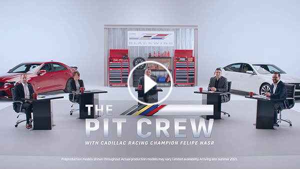 Video of Pit Crew discussing the meaning of V-Series Blackwing
