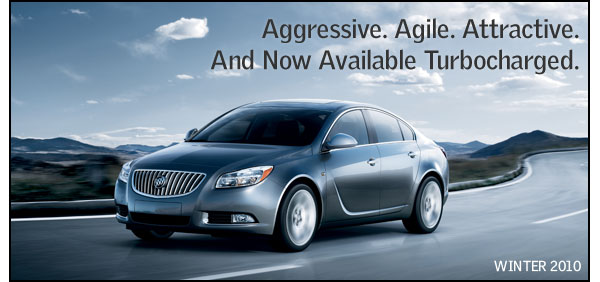 Aggressive. Agile. Attractive. And now Available Turbocharged