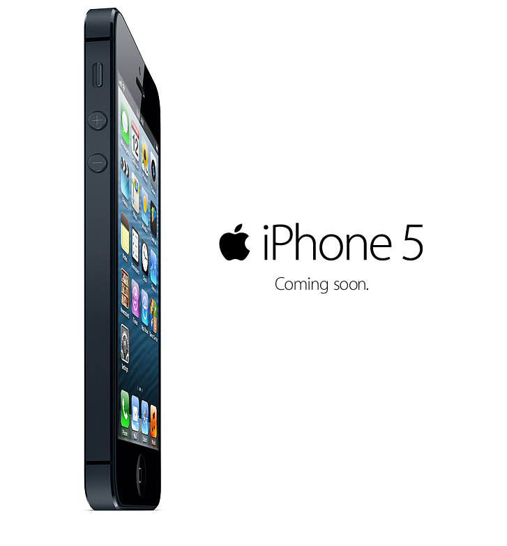 iPhone 5 | Coming soon.