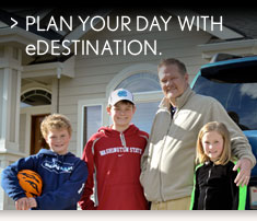 PLAN YOUR DAY WITH eDESTINATION.