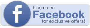 Like us on Facebook for exclusive offers!