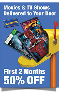 Movies & TV Shows Delivered to Your Door | BLOCKBUSTER® - First 2 Months 50% OFF
