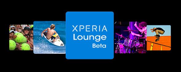XPERIA Lounge Beta