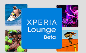 Take a break with the Xperia™ Lounge app