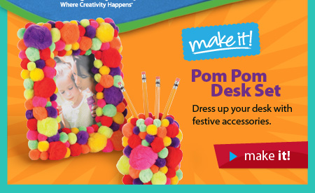 Desk on Pom Desk Set  Dress Up Your Desk With Festive Accessories  Make It