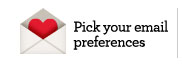Pick your email preferences