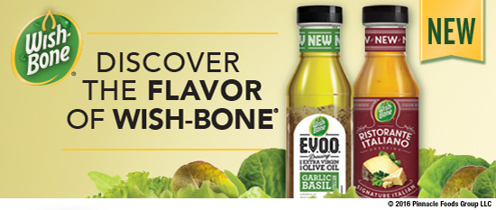 DISCOVER THE FLAVOR OF WISH-BONE®