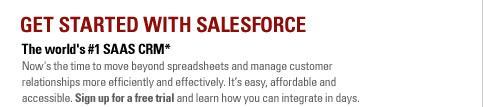 Get Started With SalesForce